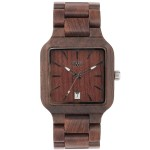 OROLOGIO IN LEGNO METIS CHOCOLATE WEWOOD
